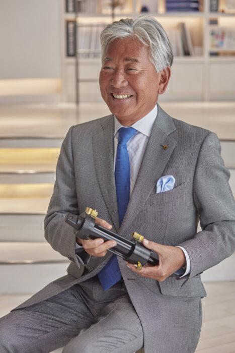代表取締役社⻑・吉川秀隆