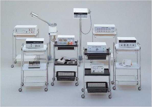 1973年最初のエステティック機器 ネメクトロン社製