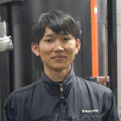 大阪工場 製造部 則永 郷馬(のりなが きょうま)さん
