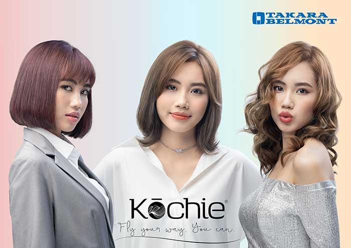 当時新たに発売された新ブランドKochieのメインビジュアル