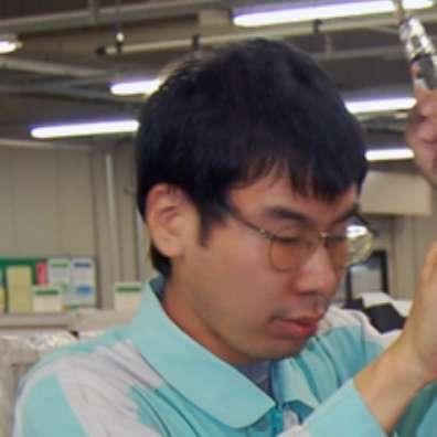 大阪工場 製造部  喜多 真一(きた しんいち)さん