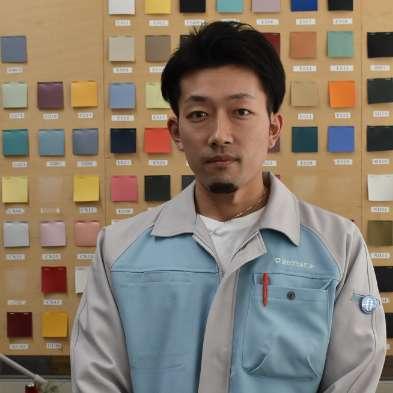 大阪工場 技術部 白井 宏典(しらい ひろのり)さん